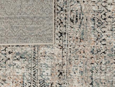 Tulipe Halı - Koyu Bej - 120x170 cm