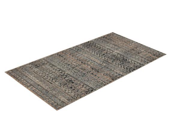 Raina Halı - Koyu Bej - 80x150 cm