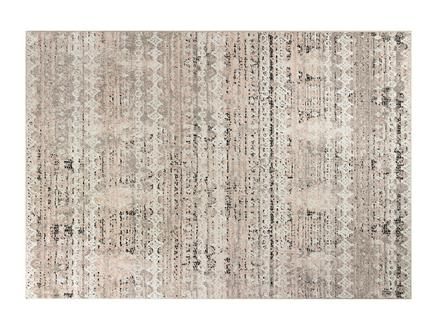 Brigitte Halı - Pembe / Koyu Bej - 120x170 cm