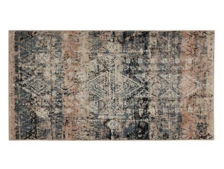 Odette Halı - Koyu Mavi / Koyu Bej - 80x150 cm