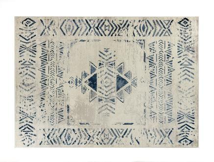 Filicia Halı - Lacivert / Açık Bej - 200x290 cm