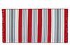 Trinetta Saçaklı Dokuma Kilim - Kırmızı / Mavi - 120x180 cm