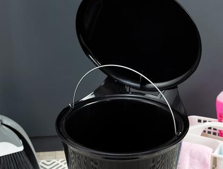 Vekony Pedallı Çöp Kovası - Siyah