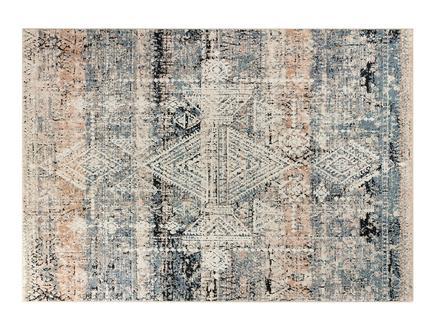 Odette Halı - Koyu Mavi / Koyu Bej - 160x230 cm