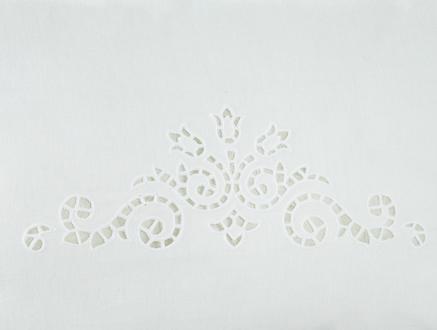Kırlent Kılıfı - Beyaz - 35x50 cm