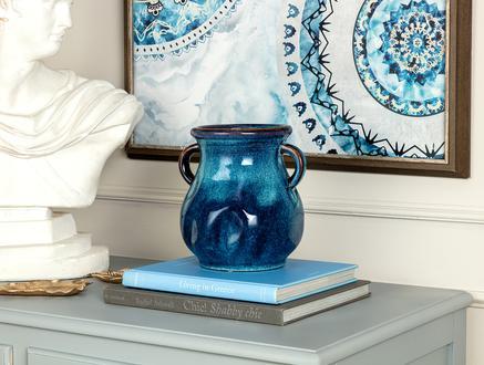 Ofelie Büyük Vazo - Mavi