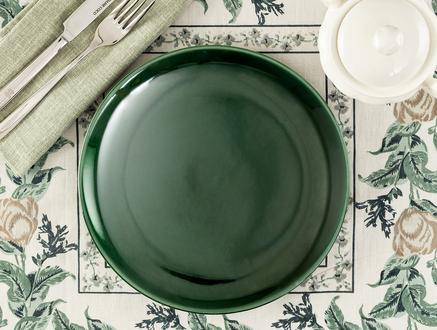 Fantine Pasta Tabağı - Yeşil