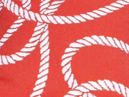 Delmare Kırlent Kılıfı - Kırmızı - 45x45 cm