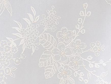 Jannie PVC Masa Örtüsü - Gri - 100x140 cm
