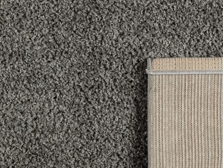 Adrien Shaggy Halı - Gri - 80x150 cm