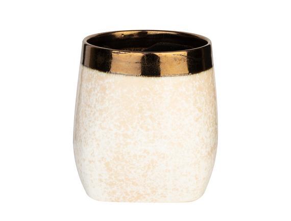 Tiffenn Orta Vazo - Beyaz
