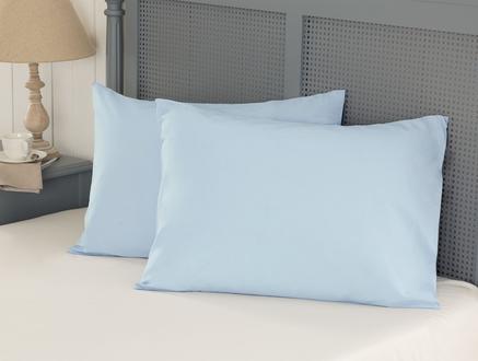 Eloise Ranforce 2'li Yastık Kılıfı - Mavi