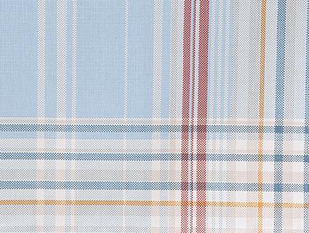 Farrant PVC Masa Örtüsü - Açık Mavi - 140x140 cm