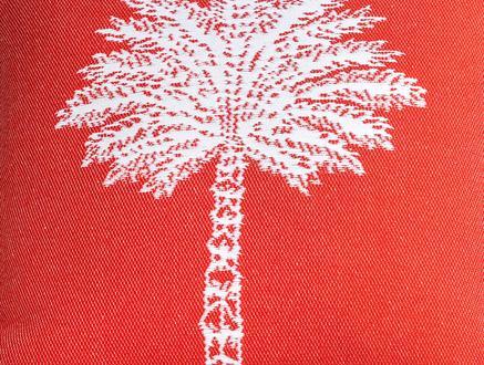 Delancy Kırlent Kılıfı - Kırmızı - 45x45 cm