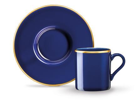 Lenora 2'li Kahve Fincan Seti - Lacivert