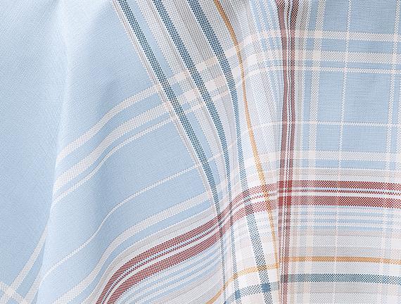 Farrant Masa Örtüsü - Açık Mavi - 140 cm