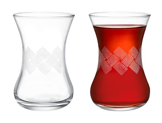 Carlotta-White Rugs 6'lı Çay Bardağı Seti