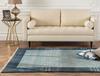 Orient Delphine Halı - Açık Mavi / Koyu Mavi - 120x170 cm