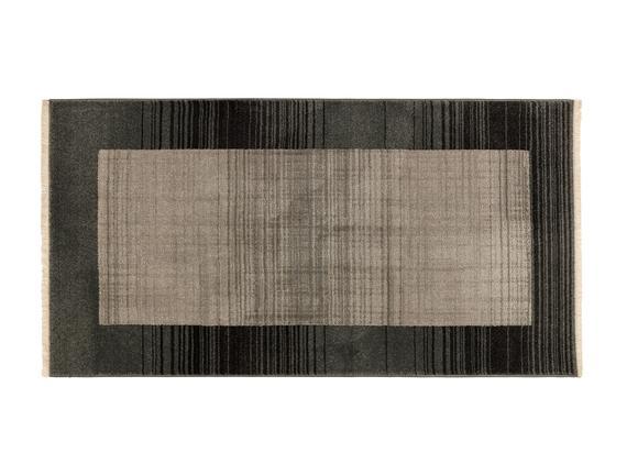 Orient Delphine Halı - Açık Gri / Koyu Gri - 76x150 cm