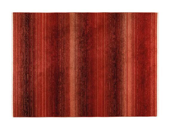 Orient Cadre Halı - Kiremit - 160x225 cm