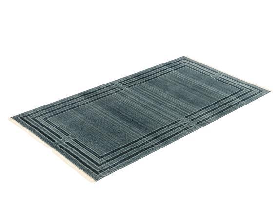 Orient Elodie Halı - Açık Mavi / Koyu Mavi - 76x150 cm