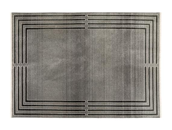 Orient Elodie Halı - Açık Gri / Koyu Gri - 160x225 cm
