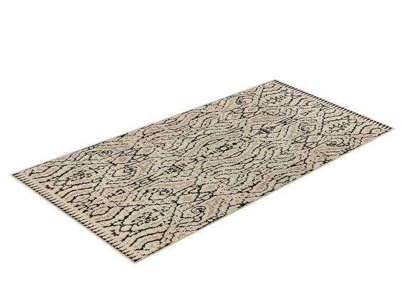 Iven Halı - Bej / Antrasit - 80x150 cm