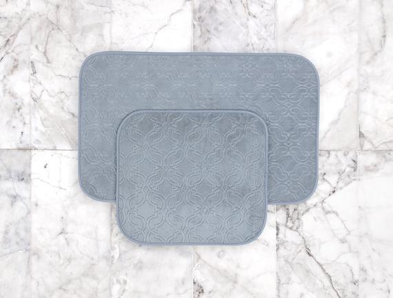 Prunella Banyo Paspası - Açık Mavi