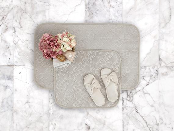 Prunella Banyo Paspası - Bej