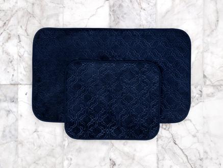 Prunella Banyo Paspası - Indigo