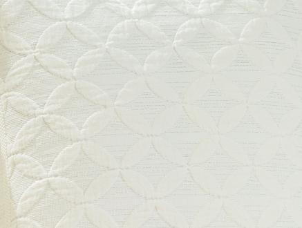 Lurex Kırlent Kılıfı - Beyaz - 43x43 cm