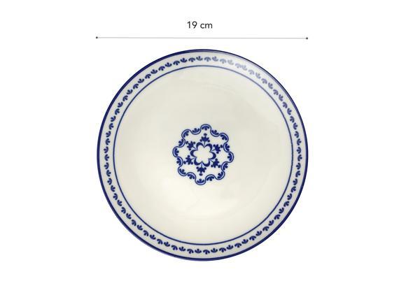 Rêve Bleu Espérer Pasta Tabağı - 19 cm