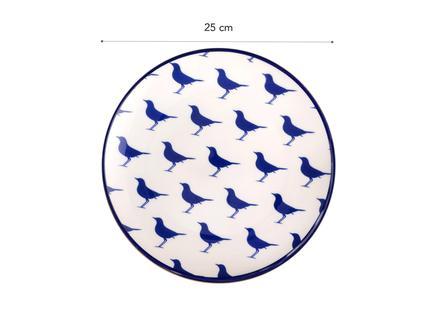 Rêve Bleu Sérénité Servis Tabağı - 25 cm