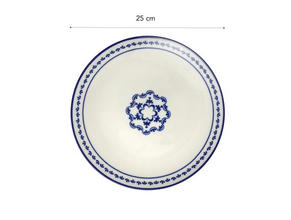 Rêve Bleu Espérer Servis Tabağı - 25cm
