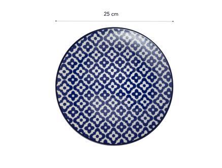 Rêve Bleu Venteux Servis Tabağı - 25cm