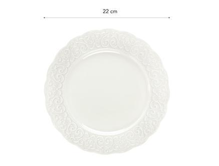 Attrayant New Bone China 4'Lü Pasta Tabağı Seti