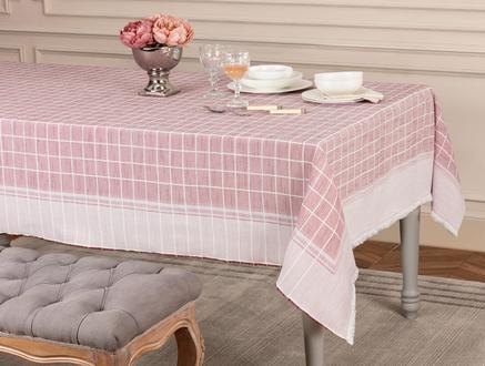 Mita  Masa Örtüsü - Kırmızı - 160x300 cm