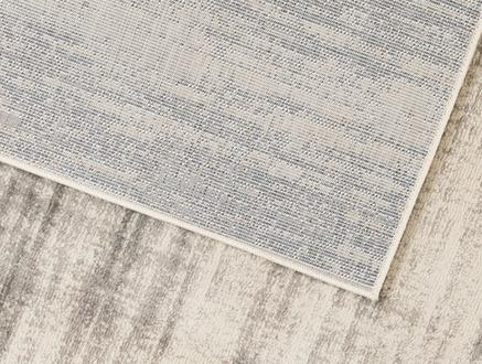 Evony Halı - Bej / Gri - 80x150 cm