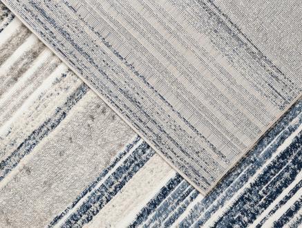 Odline Halı - Krem / Indigo - 160x230 cm