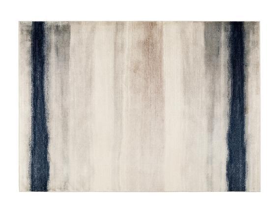 Alita Halı - Bej / Lacivert - 80x150 cm