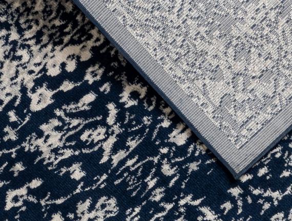 Cheval Halı - Lacivert - 80x150 cm