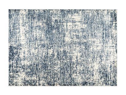 Belda Halı - Lacivert / Beyaz - 80x150 cm