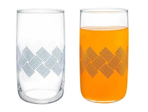Musette Blue Rugs 4'lü Meşrubat Bardağı Seti - 365 ml