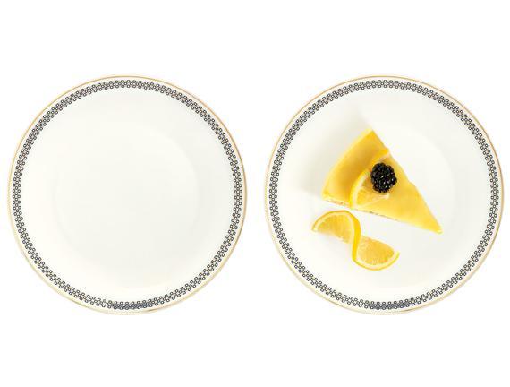 Aceline 4'lü Pasta Tabağı Seti