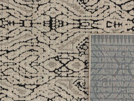 Iven Halı - Bej / Antrasit - 160x230 cm