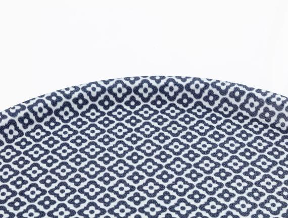 Rêve Bleu Tuyau Yuvarlak Kaydırmaz Tepsi 36,5 cm