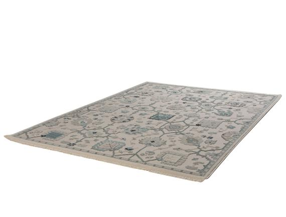 Vivid Domitille Halı - Gri - 120 x 170 cm