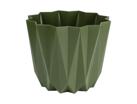 Angulaire Saksı 1,5 Lt - Koyu Yeşil
