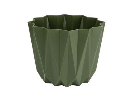 Angulaire Saksı 1 Lt - Koyu Yeşil