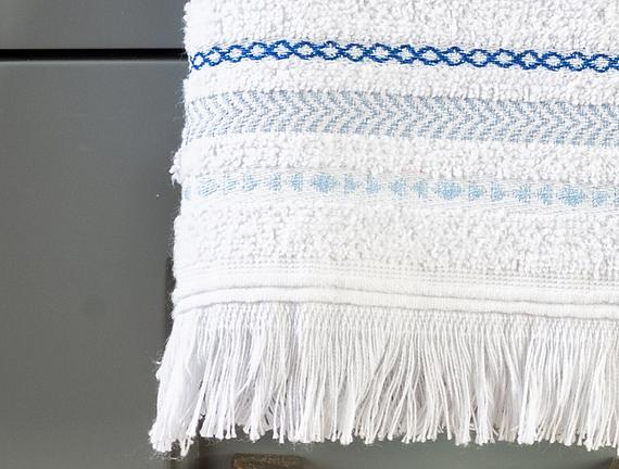 Lorient El Havlusu - Beyaz - 30x45 cm